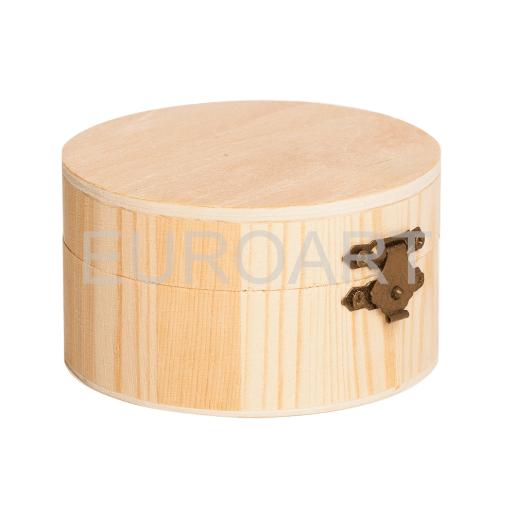 Cutie lemn 1ps rotunda