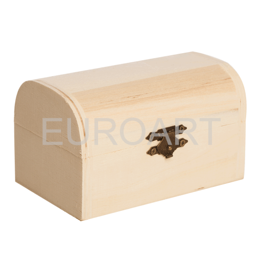 Cutie lemn ceas 1ps cufar