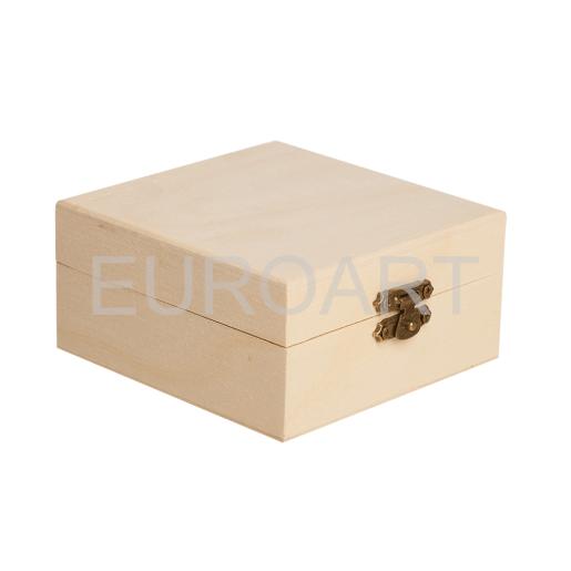 Cutie lemn 1ps patrata