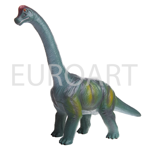 Dinozaur verde mic cauciuc