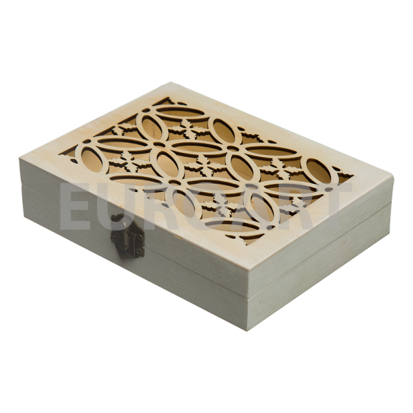 Cutie lemn 1ps perforata